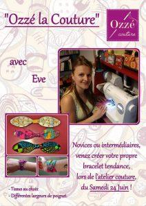 Atelier couture avec Eve