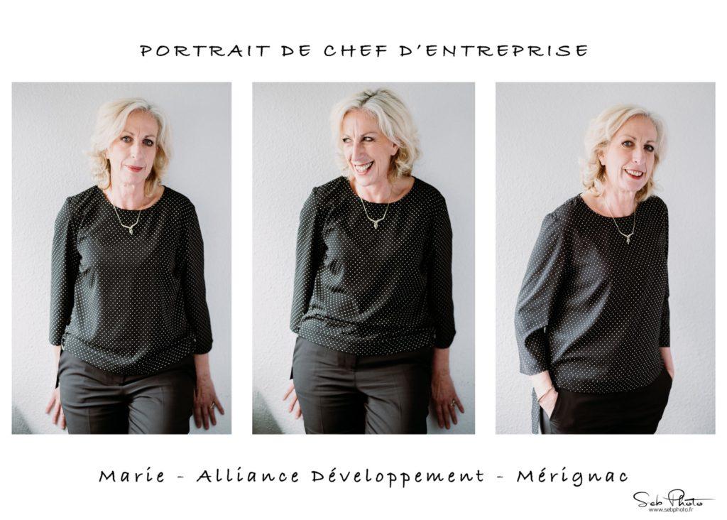 Marie Villard - Alliance Développement - Triptyque photo par Seb Photo