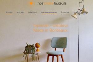 Visuel du site noschairsfauteuils.fr