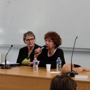 Violences sexistes - Conférence du 28 mars 2019 - Les intervenantes de La Maison de Simone