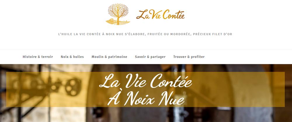 Mise en ligne du site La Vie Contée