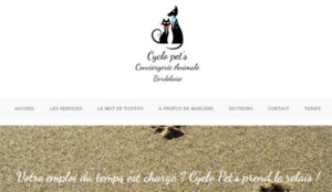 Cyclo pet's, conciergerie animale bordelaise - pet sitting
