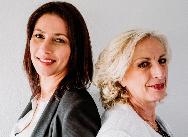 Marie Villard et Sandra Vauna dirigeantes d'Alliance Développement