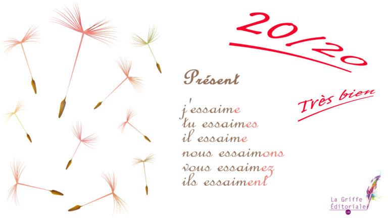 La Griffe Éditoriale vous souhaite le meilleur pour une année 20/20 !