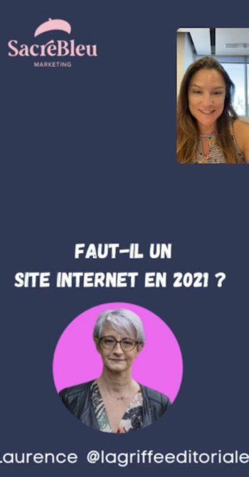 Live Instagram Sonia  sonia.marketingdigital et La Griffe Éditoriale